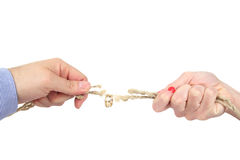 Divorzio Fotografie Stock Libere da Diritti
