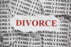 divorzio Immagine Stock