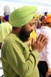 Divotee sikh Imagen de archivo libre de regalías