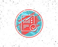 Divulgue la línea icono del documento checklist ilustración del vector