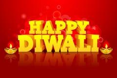 Diwali晚上 皇族释放例证