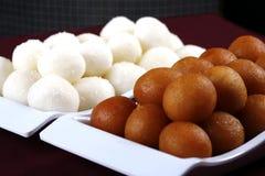 diwali甜点 免版税图库摄影