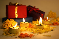 Diwali,灯节 库存图片