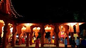 Diwali świątynia w ranku zdjęcia stock