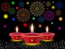 diwali ανασκόπησης Στοκ Εικόνες