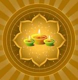 diwali ανασκόπησης Στοκ φωτογραφία με δικαίωμα ελεύθερης χρήσης