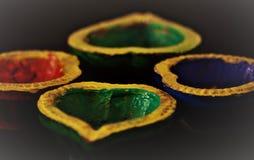 Diwali το φεστιβάλ του φωτός Στοκ φωτογραφία με δικαίωμα ελεύθερης χρήσης