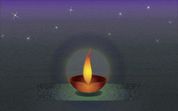 Diwali τρία redu Στοκ εικόνες με δικαίωμα ελεύθερης χρήσης