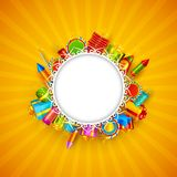 diwali счастливое Стоковое Изображение