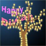diwali счастливое Стоковая Фотография