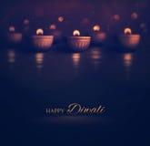 diwali счастливое иллюстрация вектора