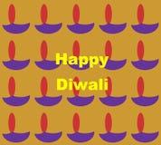 diwali счастливое Стоковая Фотография RF