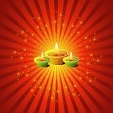 λαμπτήρες diwali Στοκ φωτογραφία με δικαίωμα ελεύθερης χρήσης