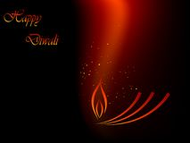 Diwali. Abstract red and black Diwali background Royalty Free Stock Photography