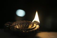 Diwali光 免版税库存图片