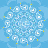 Diwali background. Happy diwali background for your greeting card design vector illustration