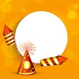 Diwali background. Illustration of elements for Diwali Stock Photo