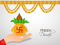 Diwali background. Illustration of elements for Diwali Royalty Free Stock Photos