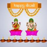 Diwali background Stock Photography