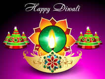 Diwali Background With Sparkle. Vector illustration