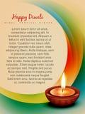 Diwali background stock illustration