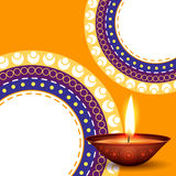 Diwali background Stock Photography