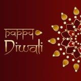 Diwali bakgrund Royaltyfri Bild