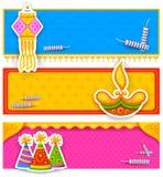 Diwali banner Royalty Free Stock Image