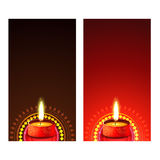 Diwali banner Stock Photos