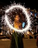 Diwali berömmar royaltyfri bild