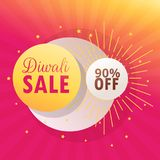 Diwali bumper sale beautiful background Royalty Free Stock Image