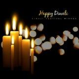 Diwali candle design Royalty Free Stock Photo