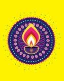 Diwali candle light Royalty Free Stock Photos
