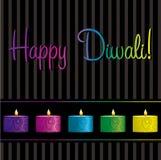 Diwali Card. Bright Diwali card in  format Stock Photos