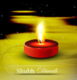 Diwali card hindu festival background Stock Image