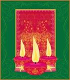 Diwali celebration background,  illustration. Abstract diwali celebration background,  illustration Royalty Free Stock Photography
