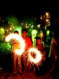 Diwali coloré Photographie stock