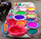 Diwali colour powders Royalty Free Stock Photography