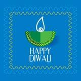 Diwali concept. Diwali festival lamp concept vector royalty free illustration