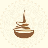 Diwali concept Royalty Free Stock Images