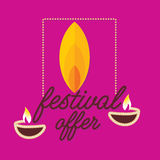 Diwali concept Royalty Free Stock Photography