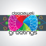 Diwali concept. Diwali greetings concept vector illustration royalty free illustration