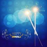 Diwali crackers. Vector diwali festival crackers on artistic vector background vector illustration