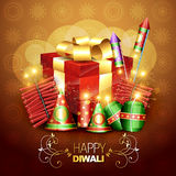 Diwali crackers. Beautiful diwali crackers background design illustration vector illustration