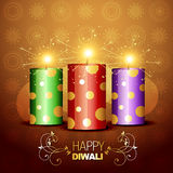 Diwali crackers background Royalty Free Stock Photography