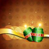 Diwali crackers background Stock Image