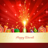 Diwali crackers background Stock Photo