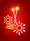 Diwali crackers Royalty Free Stock Image