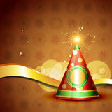 Diwali crackers vector background Royalty Free Stock Image