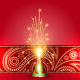 Diwali crackers. Vector indian festival diwali crackers vector illustration